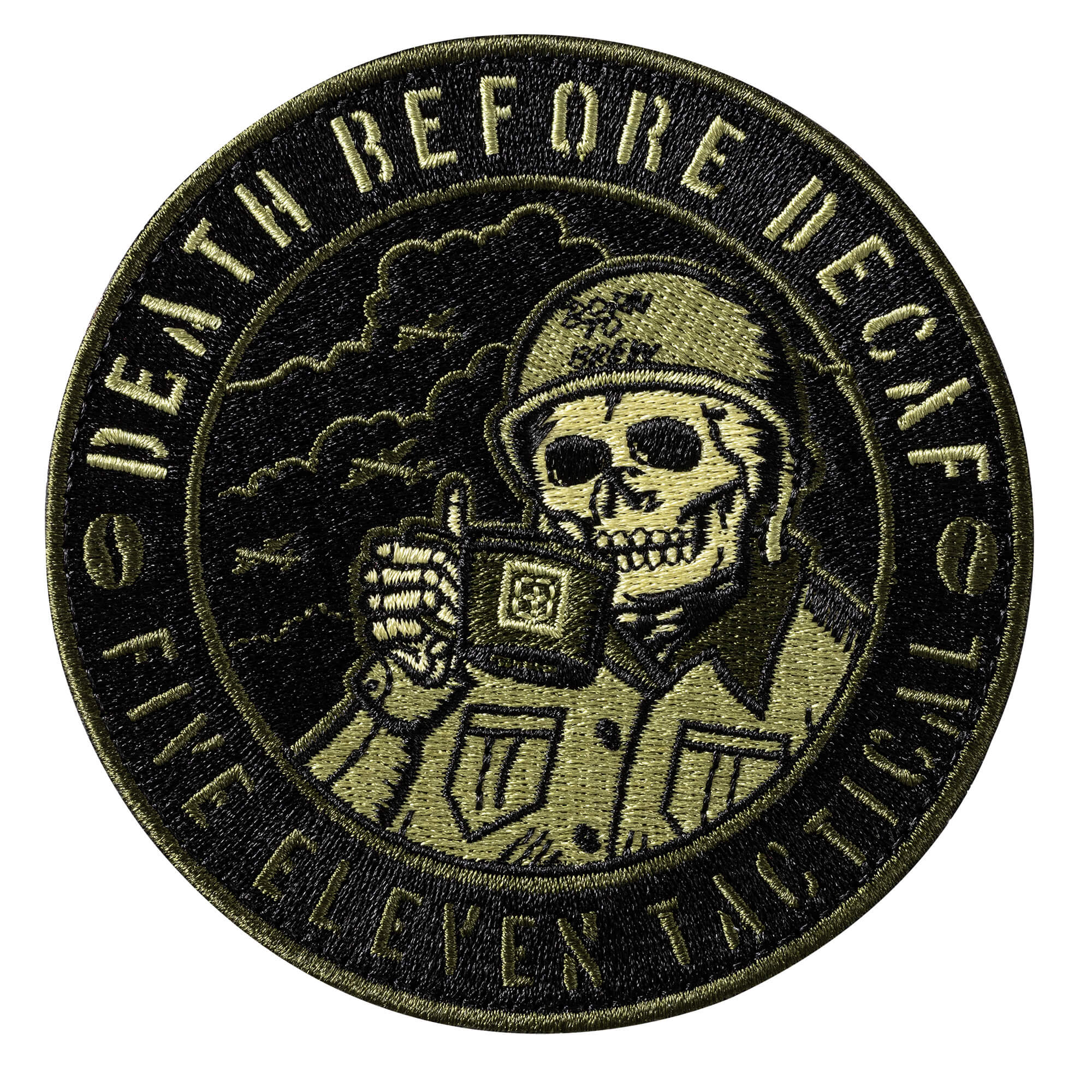 parche world war coffe 511 tactical alcatraz